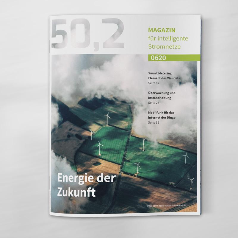 Layout für Titel der Zeitschrift 50,2